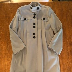 A.B.S. Silver Label wool dress coat